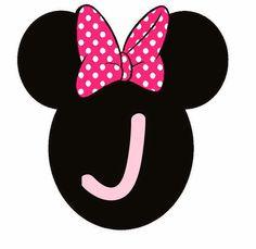 BulutsMom: Minnie Mouse Doğum Günü Banner Harfleri