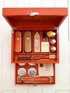 Turms Shoe Care Kit Gentleman's Essentials