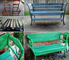 Vous avez une cour ou un jardin ? Et bien cette sélection d'objets recyclés est pour vous
