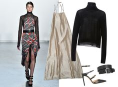 9Ways to Style a Turtleneck for Fall - With a Strappy Dress  - from InStyle.com