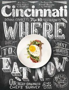Cincinnati Magazine cover via Designer Daily...oh, the type, the nameplate treatment coordinating the chalkboard concept, the photo... *swoon*swoon*swoon