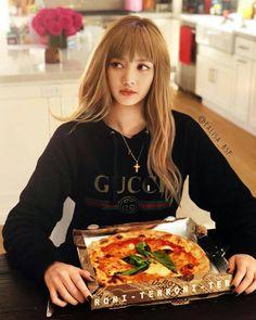 피자 먹자 EDIT BY @lalisa_bsp HQ ▷ twitter