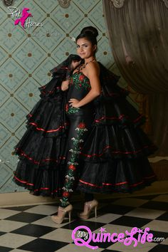 Quinceanera sweet dresses dress red mexican pretty