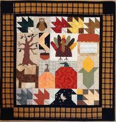 Fall quilt pattern by Debbie Mumm
