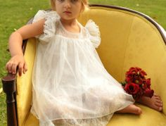 Melanie Lace Flower Girl Dress Weddings | kailynzoe.com