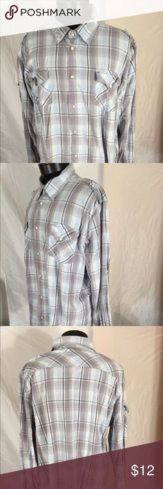 Men's XXL Pearl Snap Shirt Excellent condition Shirts Casual Button Down Shirts