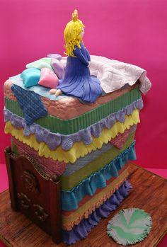 Princess and the Pea Cake - www.facebook.com/madhousebakes