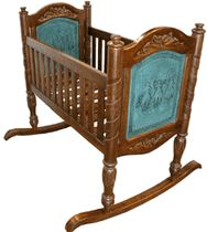 Drop by Lone Star Western Decor right now and take cost savings up to on Western bedroom furniture, including this Turquoise Baby Cradle! Western Crib, Western Babies, Western Cowboy, Western Bedroom Decor, Western Bedrooms, Wood Bassinet, Baby Bassinet, Baby Doll Crib, Baby Cribs