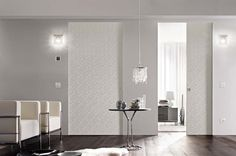 SYNTESIS® LUCE DOUBLE - Designer Internal doors from Eclisse ✓ all information ✓ high-resolution images ✓ CADs ✓ catalogues ✓ contact. Modern Light Switches, Flush Doors, Single Doors, Double Doors, Pocket Doors, Internal Doors, Lucet, Modern Interior Design, Living Spaces