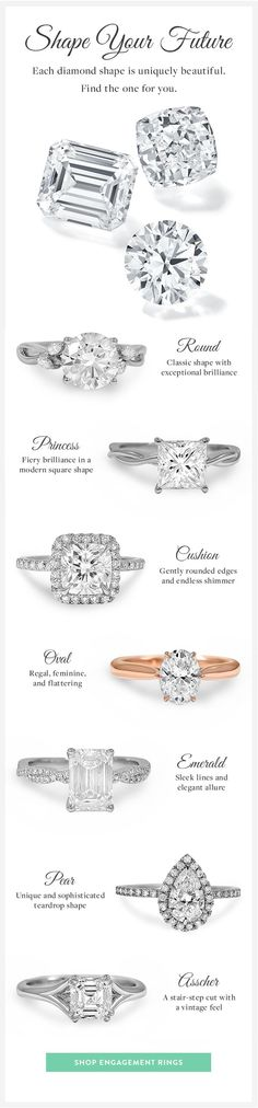 Stunning and ethical, our diamonds dazzle in every way!