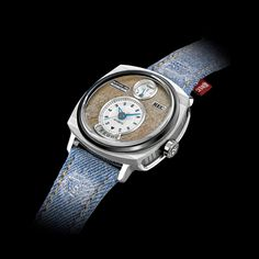 Made from vintage Ford Mustangs, the automatic collection has a masculine presence on your wrist and is packed with design references to the car from which it was partly made. Analog Watches, Wrist Watches, Cool Watches, Watches For Men, Telling Time, Vintage Watches, Luxury Watches, Clocks, Porn