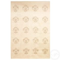 Matilde & Co - Chhatwal & Jonsson - Ullmatta Dhurry Heraldic Beige - Handla online 3995,- 180 x 270