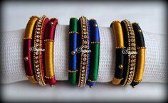 Silk thread jewel