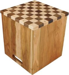 Palumba Toys and Games: Wooden Chess Table with Checkers and Chess Pieces: Palumba