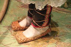 Old Russian shoes - maybe birchbark?