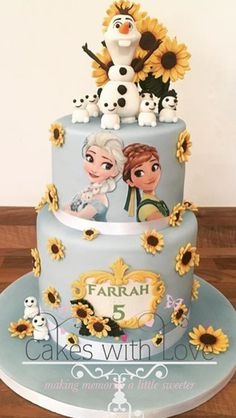 Frozen summer cake