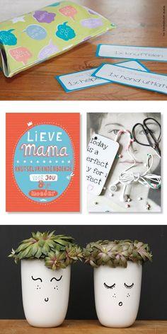 top 10 DIY moderdag