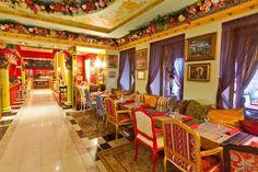 Russian Kitsch Restaurant in St. Petersburg, Russia