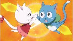 Carla Fairy Tail, Fairy Tail Cat, Fairy Tail Happy, Image Fairy Tail, Fairy Tail Ships, Final Fantasy Ix, We Are Strong, Anime Fairy, Manga
