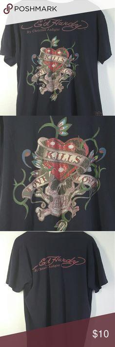 Mens M Von Dutch Kills love slowly t shirt This Rocking Von Dutch shirt is lightly worn Von Dutch Tops Tees - Short Sleeve