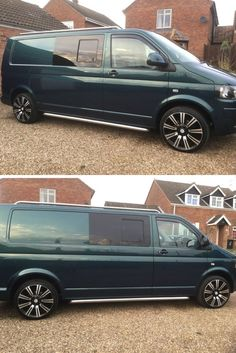 Prepare for T5 spam!! So many customers come to us for side bars and roof rails for their Volkswagen T5 vans. Dawn was happy with her roof rails. #4x4 #Direct4x4 #VW #Volkswagen #T5 #T6 #RoofRails #SideBars #SideSteps #HappyCustomer #GreatFeedback