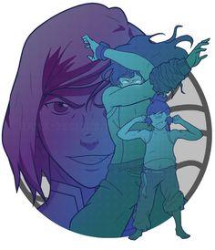 Avatar Generations print: Korra! Available on Redbubble~#AvatarGenerations