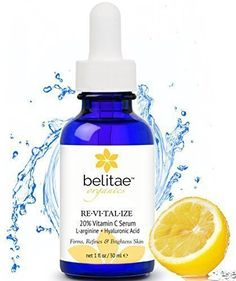 BELITAE Vitamin C Serum with Hyaluronic Acid  Repair Sun Damage Age Spots -- Check out the image by visiting the link.