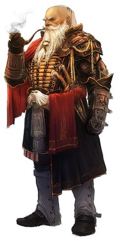Olenjack --- This illustration actually looks like my dad, haha. If only I could get him to dress that cool. :D