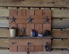 White Pallet Wood Shelf Wall Decor White Reclaimed Wood Wall