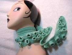 Tentacle scarf!! I need to make this.