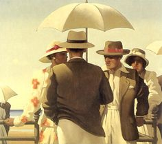 Incident On The Promenade - jack vettriano