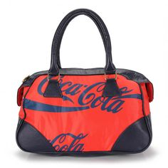 Bolsa Bau Feminina Coca Cola 3343070 - Vermelho - Passarela.com
