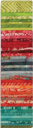 Hoffman Batik Fabric Bali Pops: Splash - The Sewing Studio