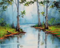 River Gums by artsaus.deviantart.com on @DeviantArt