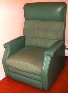 Vintage Recliner Chair Verdigris/Teal Green Vinyl! 175 & vintage la-z-boy reclina-rocker | You may be seated | Pinterest ... islam-shia.org