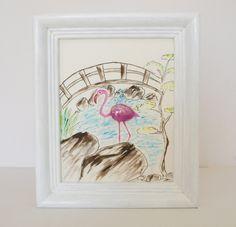 GarZenKunst Flamingo im japanischen Garten von Ztone auf DaWanda.com