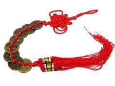 El poder de las piedras preciosas: Las monedas chinas Consejos Feng Shui, Fen Shui, Cardinal Directions, Wealth, Tassels, Coins, Mindset, Spiritual, Remedies
