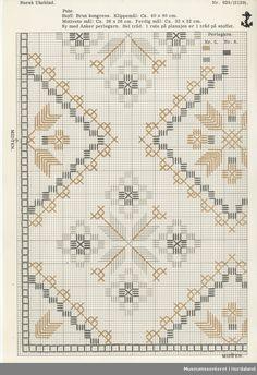 Museumssenteret i Hordaland (MuHo) har eit stort mangfald i samlingane. Vi har tradisjonelle samlingar av materielle og immaterielle kulturminne, men i tillegg har vi eit ansvar for å ta vare på og ve Towel Embroidery, Hand Embroidery Videos, Hardanger Embroidery, Ribbon Embroidery, Cross Stitch Embroidery, Embroidery Patterns, Cross Stitch Geometric, Cross Stitch Borders, Cross Stitch Patterns
