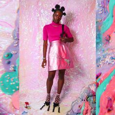 Quirky Fashion, Kawaii Fashion, Fashion Shoot, Editorial Fashion, Rookie Magazine, Vaporwave Fashion, Rococo Fashion, Afro Punk, African Beauty
