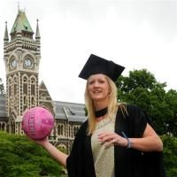 """Silver Ferns netballer Shannon Francois is """"ready for what the future holds"""" after today's University of Otago graduation."""