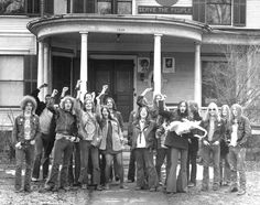 The MC5 and friends at the Hill Street commune. I think this is the place my mom used to party with MC-5 back in the day! Maybe I was even there as a baby!!