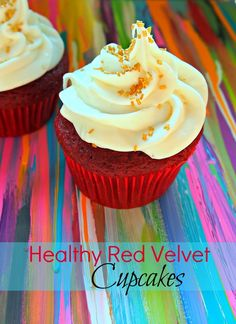 "Yup - I'm posting this under my ""Health Nut"" board simply because it is brilliant! Red Velvet Cupcakes are one of my weaknesses.... I'll certainly be making these in the near future! Undressed Skeleton — Fab Fit Friday: The Cupcake Challenge"