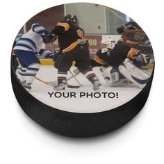 Personalized Hockey Puck With Your Picture