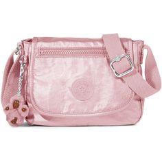Kipling Sabian U Crossbody Metallic Mini Bag (935 MXN) ❤ liked on Polyvore  featuring 284930678d