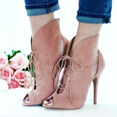 Chinese Laundry Peep Toe Ankle Booties Julius