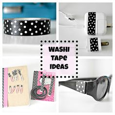 Keep Calm and Decorate: Washi Tape Ideas