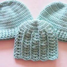 Čepičky – NÁVODY NA HÁČKOVÁNÍ Crochet Bebe, Crochet Hats, Ear Warmers, Little People, Crochet Projects, Headbands, Hair Accessories, Beige, Knitting