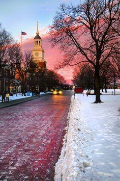Sunset at Greenfield Village  -  Linda Broughman via Debra Clemence-Roman onto Michigan Has It All