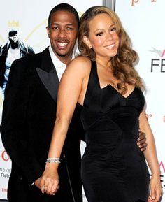 Mariah Carey and Nick Cannon Nick And Mariah, Mariah Carey Nick Cannon, Cute Celebrity Couples, Cute Couples, Power Couples, Beautiful Love, Beautiful Couple, Thing 1, Famous Couples