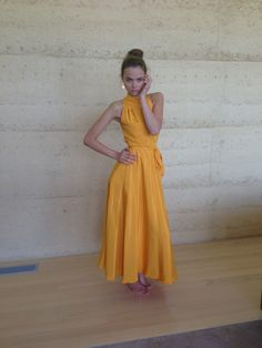 Uffe Frank silk dress